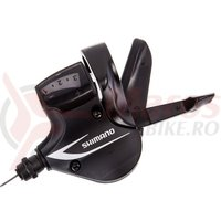 Maneta schimbator Shimano Acera SL-M360 stanga 3v cablu 1800mm