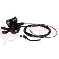 Maneta schimbator Shimano Alfine SLS700 11V, 2,100mm, negru, Rapidfire