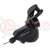 Maneta schimbator Shimano ALIVIO SL-M3100-2L 2 viteze, stanga, 1,800mm,Rapidfire