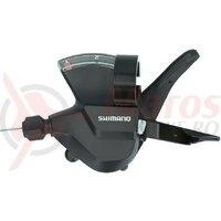 Maneta schimbator Shimano Altus SLM315 2 viteze, stanga, 1,800mm, black
