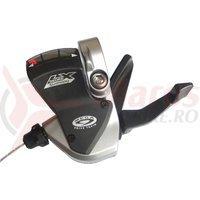 Maneta schimbator Shimano Deore LX SL-M570-S 3v cablu inclus