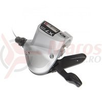 Maneta schimbator Shimano Deore LX SL-T660 3v cablu inclus