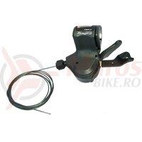 Maneta schimbator Shimano Tiagra SL-4703 3v , stanga, 1800 mm for Flatbar