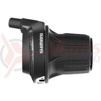 Maneta schimbator Shimano Tourney Revoshift SL-RV200-6R - Dreapta-Spate, 6 Viteze
