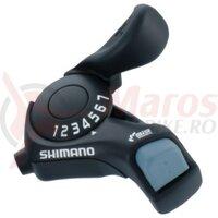 Maneta schimbator Shimano Tourney SL-TX30-7R, dreapta, 7V, cablu 2050mm, vrac