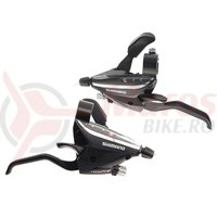 Manete frana/schimbator Shimano ST-EF65-2A 3x8v negre