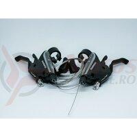 Manete mixte frana/schimabtor Shimano ST-EF65-2A 7x3v cabluri schimabtor incluse