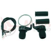 Manete schimbator Power 3/6 vit Grip-Shift friction