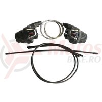 Manete schimbator Shimano SL-RS35 Tourney 7R cu cabluri si camasi