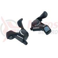 Manete schimbator Shimano SL-TX30 3x7v Tourney