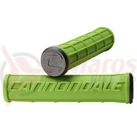 Mansoane Cannondale Silicone Waffle Grips GRN