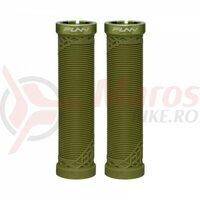 Mansoane Funn Hilt, Lock-On/One-sided, dia.30mm, 130mm, verde inchis, AM