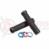 Mansoane Giant Swage Single Lock-On Grip Black/Red