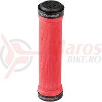 Mansoane lock-on Kross Geckon 130 mm red