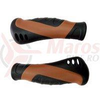 Mansoane No Brand city ergo G105B 130mm negru/maro