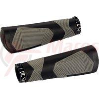 Mansoane PRO ergonomic dual density 135mm w/end plugs bk/gy