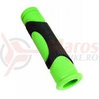 Mansoane Propalm PRO-D944-3, 125mm, negru cu verde