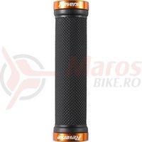 Mansoane Reverse Classic 130/29mm negru/portocaliu