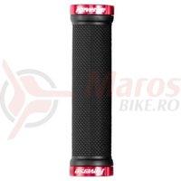 Mansoane Reverse Classic 130/29mm negru/rosu