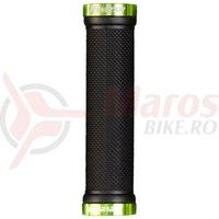 Mansoane Reverse Classic 130/29mm negru/verde deschis