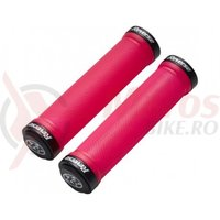 Mansoane Reverse Spin Lock-On 30 mm rosu/negru