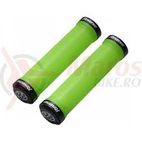 Mansoane Reverse Spin Lock-On 30 mm verde/negru