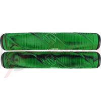 Mansoane trotineta Striker Negru/Verde