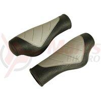 Mansoane Velo, MTB comfort gel ergonomic, grii/negru, 125