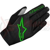 Manusi Alpinestars Aero 2 black/bright green marime XL