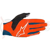 Manusi Alpinestars Aero V3 poseidon blue/energy orange