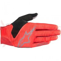 Manusi Alpinestars Aero V3 red/steel gray