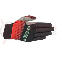 Manusi Alpinestars Cascade Pro black/red/teal