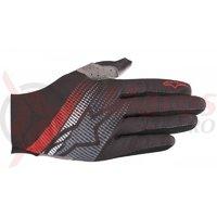 Manusi Alpinestars Predator black/steel gray/red
