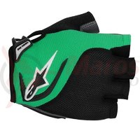 Manusi Alpinestars Pro-Light Short Finger black bright green marime XXL