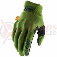 Manusi Cognito Army Green/Black Gloves
