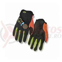 Manusi copii Giro DND JR II black multicolor