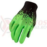 Manusi cu degete Supacaz SupaG - negru / verde neon