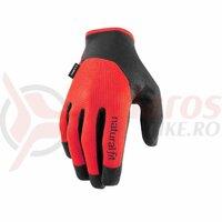 Manusi Cube Gloves long finger X NF black'n'red