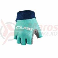 Manusi Cube Gloves Performance Junior Short Finger blue´n´mint
