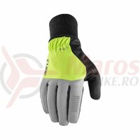 Manusi Cube gloves winter long finger X NF grey'n'yellow