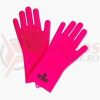 Manusi de curatare Muc-Off Deep Scrubber Pink