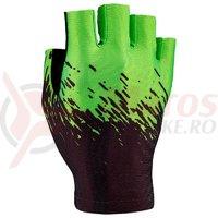 Manusi fara degete Supacaz SupaG - negru / verde neon