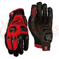 Manusi Five Gloves DOWNHILL men's, red