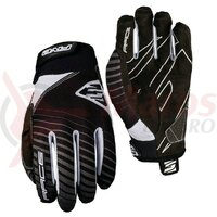 Manusi Five Gloves RACE men's, black/white