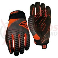 Manusi Five Gloves RACE men's, orange fluo
