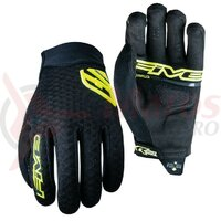 Manusi Five Gloves XR - AIR men's,  black/yellow fluo