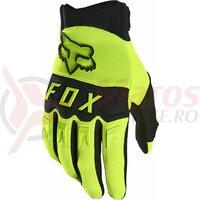 Manusi Fox Dirtpaw Glove [Flo Ylw]