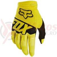 Manusi Fox Dirtpaw Race Glove ylw