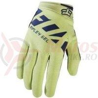 Manusi Fox Mtb-Glove Womens Ripley Gel glove navy/yellow