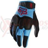 Manusi Fox MX-Glove Unabomber glove cyan